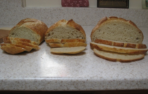 All three loaves