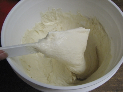 After stirring down