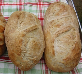 first two loaves